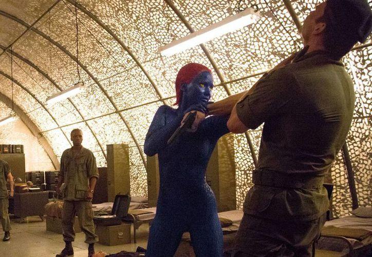 En todo el mundo, la nueva película de los mutantes de Marvel se estrenó en el número uno en 119 países, con 262 mdd. (xmen-diasdelfuturopasado.com)