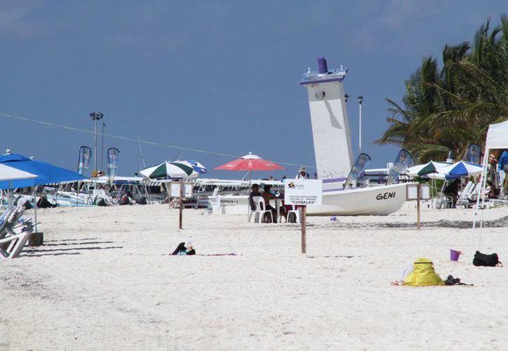 Las playas están por recibir el distintivo. (Sergio Orozco/SIPSE)