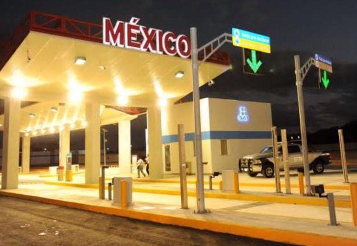 Aplicarán la Ley de Movilidad a partir del 12 de septiembre en la frontera. (Enrique Mena/SIPSE)