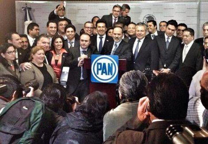 Gustavo Madero calificó de 'tiranía de las minorías' la interrupción del Consejo Nacional del PAN el sábado pasado. (Twitter/@GustavoMadero)