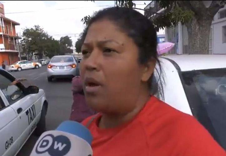 Las autoridades mexicanas indicaron la migrante se encuentra bien y resguardada. (El Heraldo)