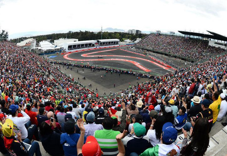 El GP de México se correrá después de disputarse el de Estados Unidos, el 22 de octubre. (Internet/Contexto)