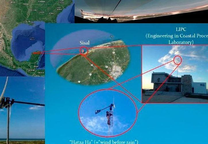 La costa yucateca será monitoreada con videocámaras. Los proyectos de investigación están relacionados con la vulnerabilidad, peligro y riesgo en el litoral. (Milenio Novedades)