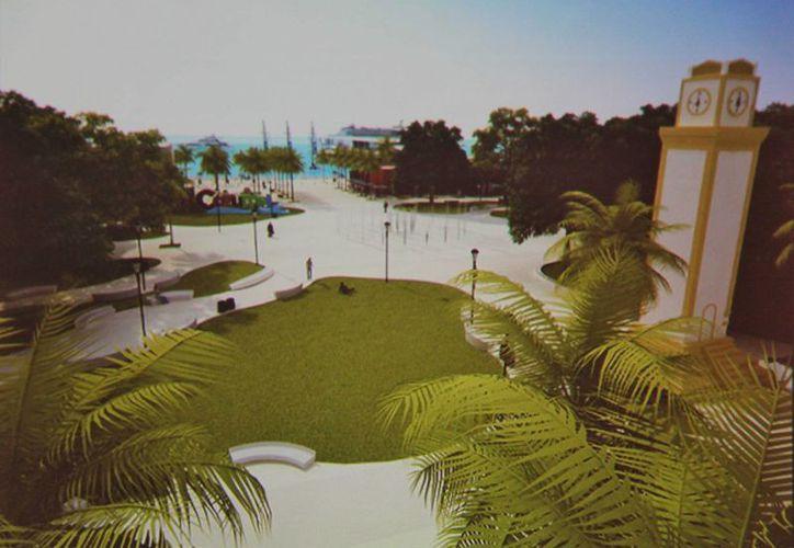 Noventa y cinco millones de pesos se invertirán en la remodelación del parque Benito Juárez García.  (Gustavo Villegas/SIPSE)