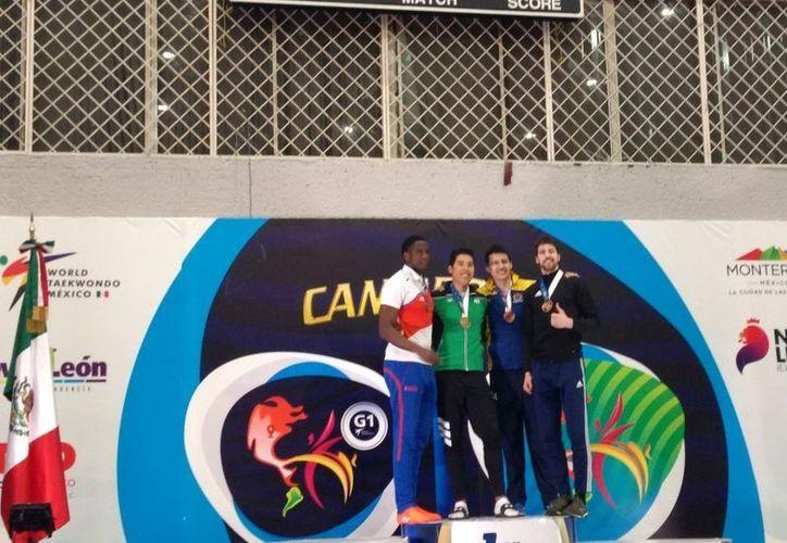 Carlos Sansores le arrebató la victoria al cubano Rosbelis Despaigne. (Foto: Redacción)