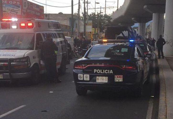 La tarde de este martes se desató una balacera en la delegación Iztapalapa de la Ciudad de México. (Milenio)