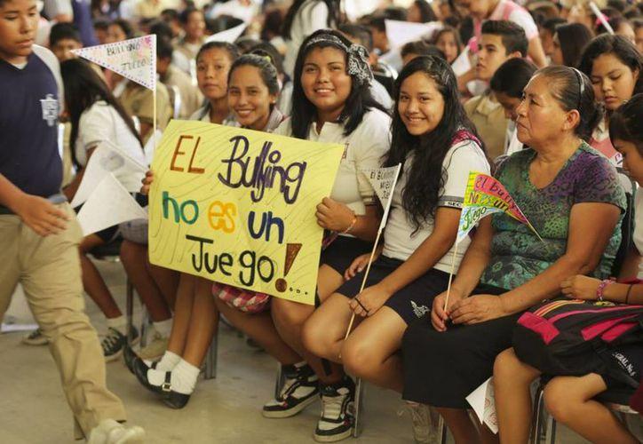 En todo México se ha reforzado el combate al 'bullying'- (Notimex)