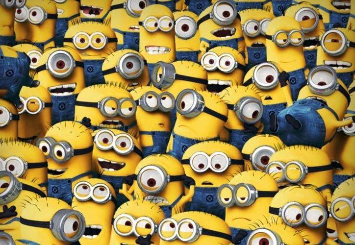 Los 'Minions' son la atracción principal para el mercadeo de la película. (Foto: Brandsmkt)