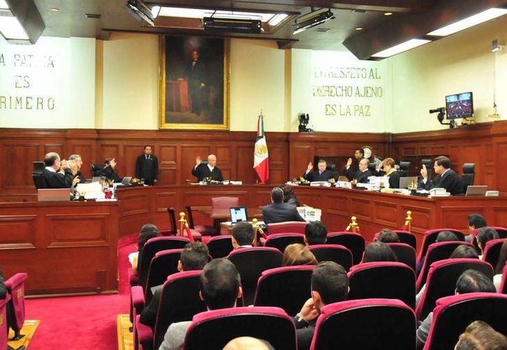 El Pleno recordó que hace más de un mes, la Corte ya se había pronunciado sobre la reducción de representantes populares en Durango. (Foto de archivo/Notimex)