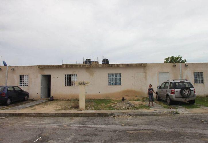 Las lluvias que duraron tres semanas, dejaron como saldo filtraciones de agua en los techos de las viviendas. (Archivo/SIPSE)