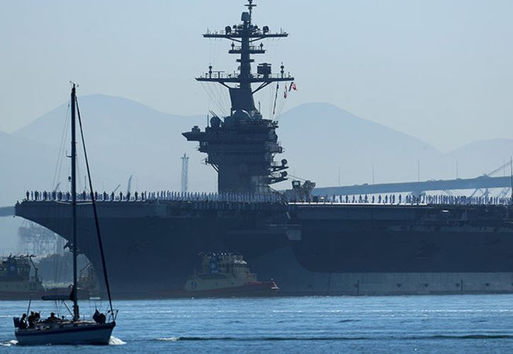 UN nuevo despliegue se produce mientras fuerzas de EE.UU realizan maniobras de acercamiento. (Foto: RT Noticias)