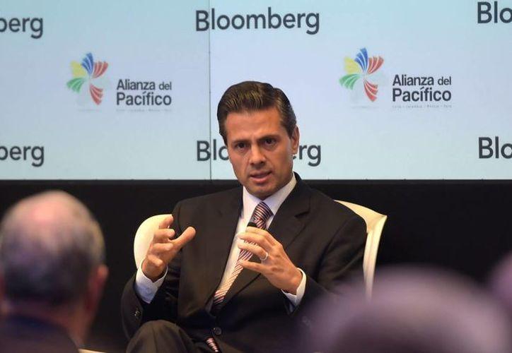 Peña Nieto aseguró, una vez más, que los efectos de la reformas no serán visibles 'de la noche a la mañana'. (Notimex)