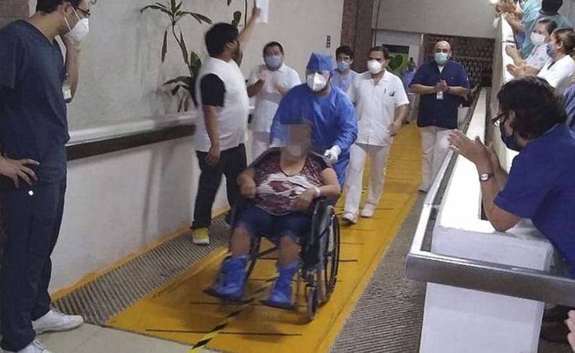 Una de las primeras yucatecas que presentó Covid-19 en el Estado, ya fue dada de alta del hospital. (FOTO DE CONTEXTO/Archivo/Sipse)