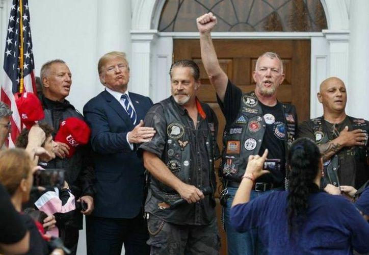 El mandatario norteamericano sigue subiendo impuestos ahora en las motocicletas. (Foto: elimparcial.com)
