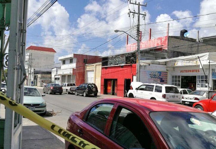 """Los delincuentes pidieron a las personas que se encontraban en el bar """"Hipo"""", que entregaran sus pertenencias. (Foto: Claudia Olavarría)"""