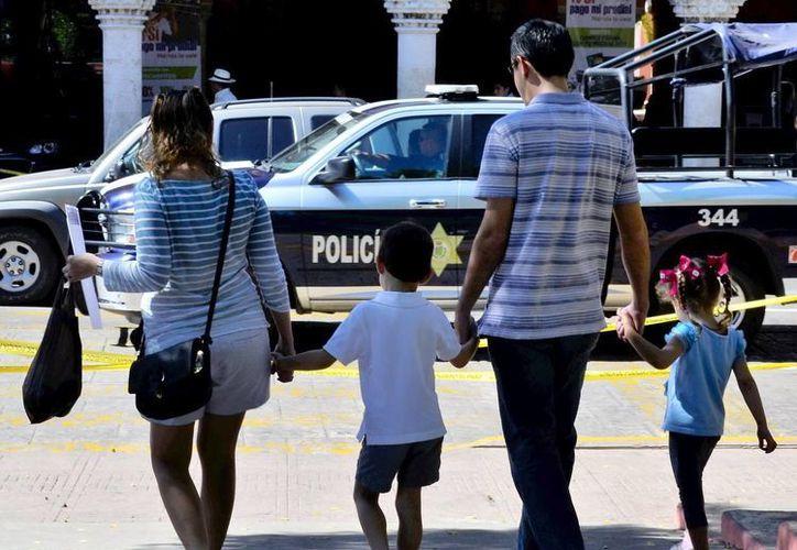 La responsabilidad de tener una familia ocasiona estrés. (Daniel Sandoval/Milenio Novedades)
