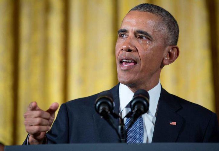 'Por primera vez en la historia', cualquier persona podrá enviar un mensaje a Obama a través de una página de Facebook. (The White House)