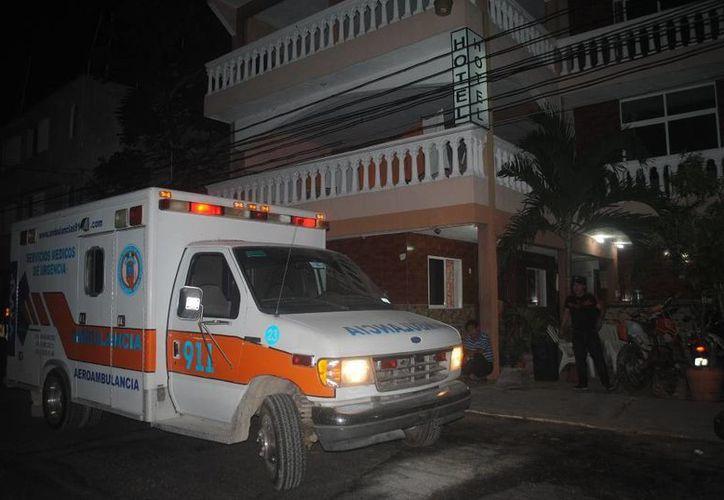 Un sujeto fue lesionado por otro dentro de la habitación de un hotel al que ingresaron juntos. (Redacción/SIPSE)