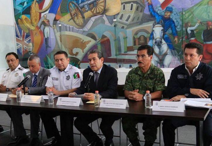 Los detalles de la detención se dieron a conocer en conferencia de prensa. (Redacción/SIPSE)