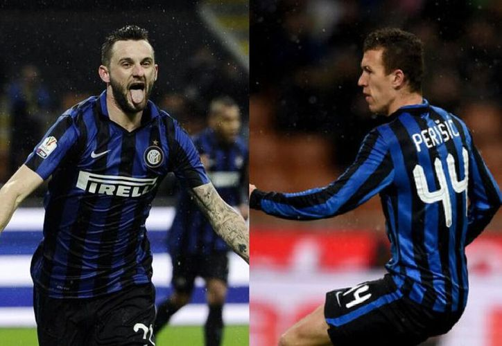 Perisic y/o Brozovic podrían hacer que en la final del Mundial se mantenga una tradición relacionada con el Inter de Milan (Foto: Youtube)