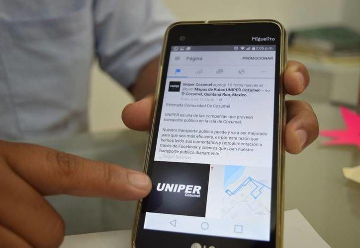 La aplicación permitirá a los usuarios conocer en tiempo real dónde se ubica su transporte. (Foto:  Gustavo Villegas/SIPSE)