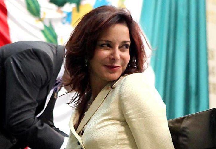 Purificación Carpinteyro es secretaria de la Comisión de Comunicaciones y miembro de la de Competitividad. (redpolitica.mx)