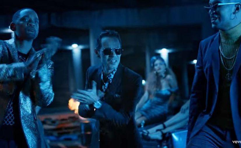 Marc Anthony, Bad Bunny y Will Smith interpretarán en vivo por primera vez su tema 'Esta Rico' durante la apertura de los Latin Grammy. (YouTube)