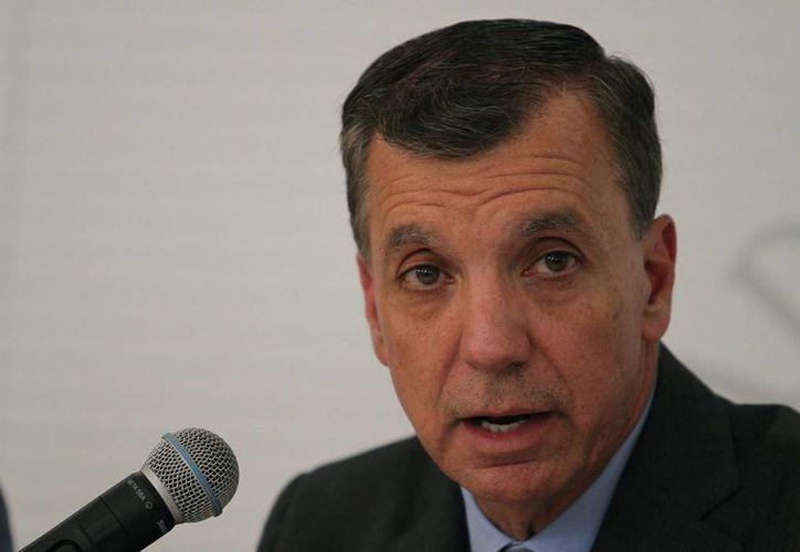 El titular de la Profepa, Guillermo Haro Bélchez, dijo que la relación con la Secretaría de Marina se ha fortalecido de manera importante. (Notimex)