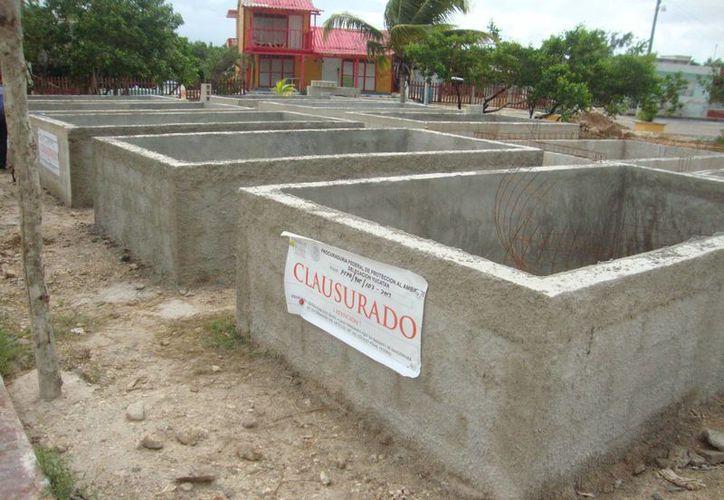 El 'sancochadero' de pepino de mar clausurado en el puerto de San Felipe. (SIPSE)