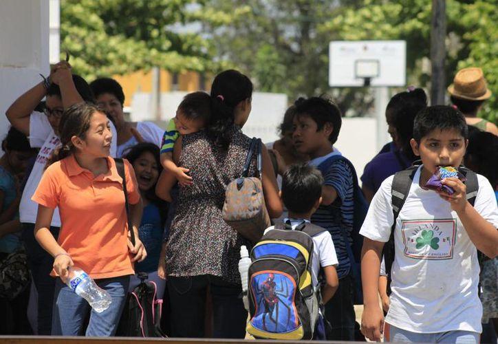 La Secretaría de Educación confirmó que los días lunes y martes, 3 y 4 de marzo, no habrá clases. (Harold Alcocer/SIPSE)