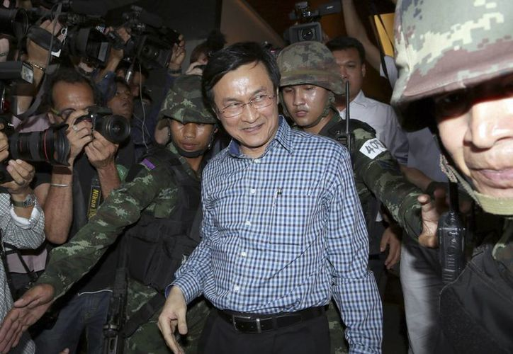 Un golpe de Estado no es la solución a los problemas y conflictos en la sociedad tailandesa:  Chaturon Chaisang. (Foto: AP)