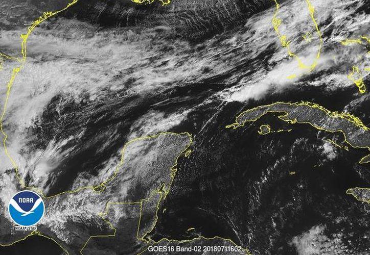 El Frente Frío 36 también originará hoy nublados y lluvias en buena parte del territorio estatal.