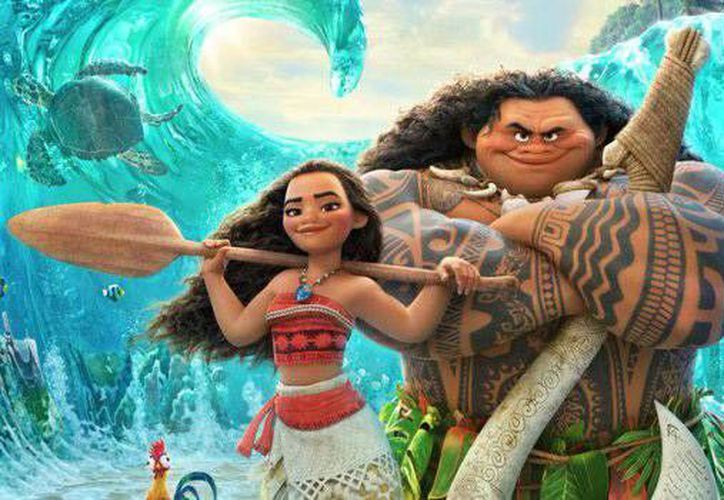 La película de la princesa 'Moana' se estrenará en los cines de  México, el próximo viernes 25 de noviembre.(EFE)