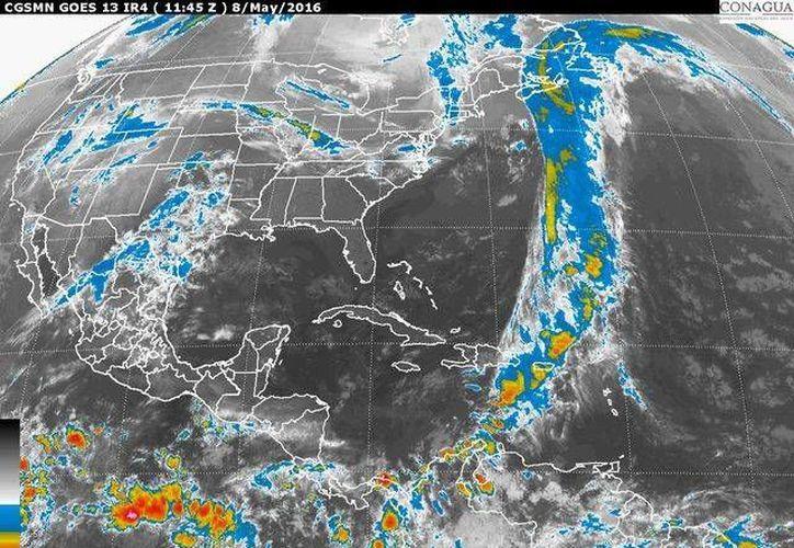 Este domingo se prevé que tendrá temperaturas calurosas en Quintana Roo. (Cortesía/SMN)