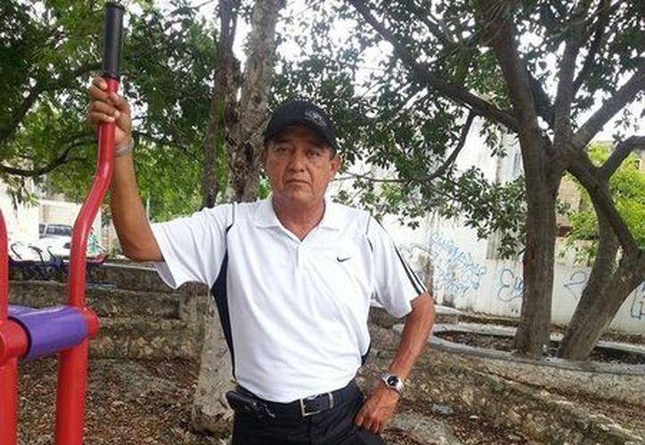 Juan Bautista Reinhardt, notable promotor del deporte quintanarroense y famoso cronista. (Redacción/SIPSE)