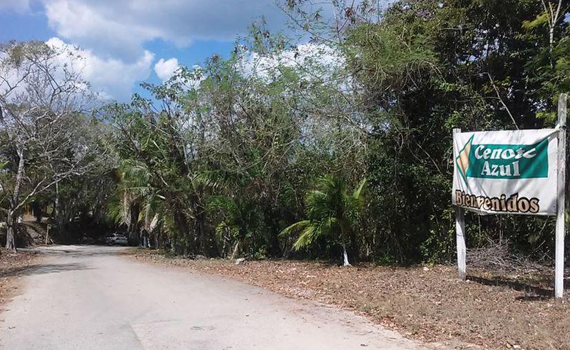 En diversas porciones de terrenos, personas ajenas al ejido han estado realizando edificaciones, al parecer, con aval del IPAE. (Javier Ortiz/SIPSE)
