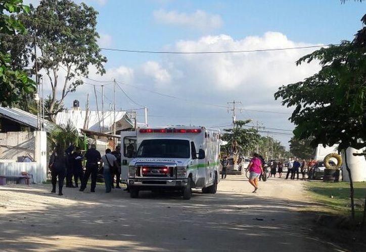 Una mujer resultó lesionada en Puerto Morelos. (Redacción/ SIPSE)