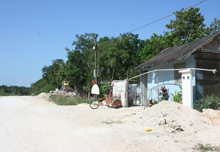 Habitantes de zonas suburbanas votarían el 7 de julio. (Adrián Barreto/SIPSE)