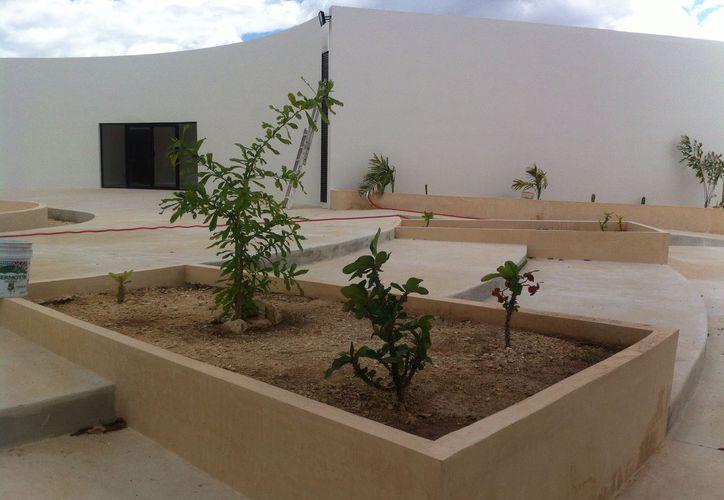 Así luce el nuevo Colegio de Ginecología y Obstetricia de Yucatán, en el que se invirtieron 10 millones de pesos. (Milenio Novedades)