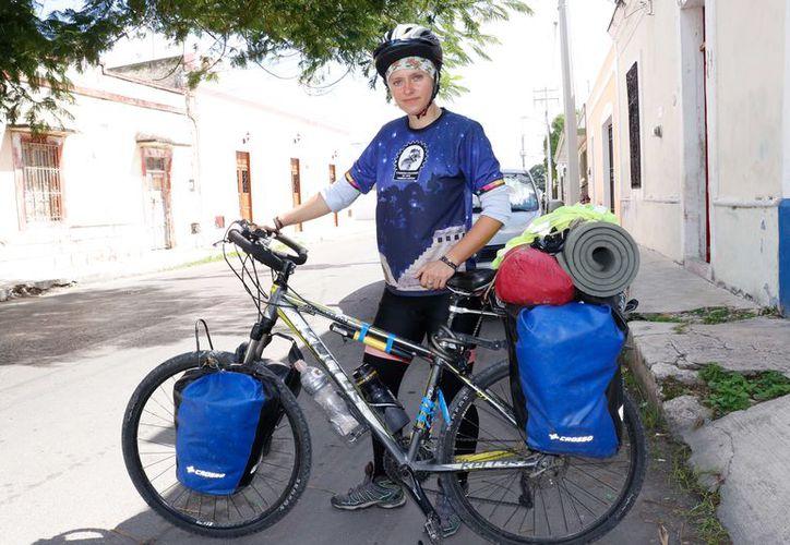 Maria Garu, es la turista agredida con 'piedras' en el municipio de Pisté. (Foto: Milenio Novedades)