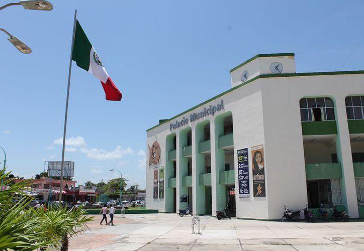 La actual administración señala que el daño patrimonial del Ayuntamiento supera los 121 millones de pesos. (Joel Zamora/SIPSE)