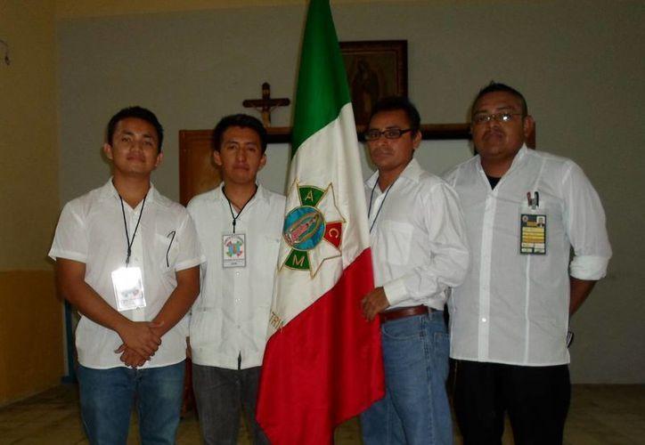 """La ACJM está considerado como el """"brazo defensor de la religiosidad"""". (Milenio Novedades)"""