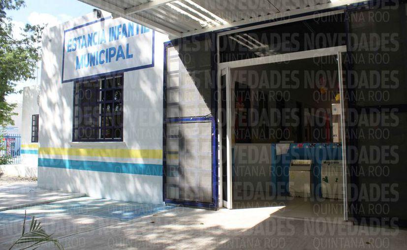 La estancia infantil municipal se ubica en el fraccionamiento El Petén. (Octavio Martínez/SIPSE)