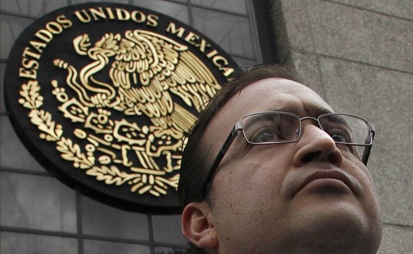 El gobernador de Veracruz, con licencia, Javier Duarte, en imagen de archivo.  (AP)