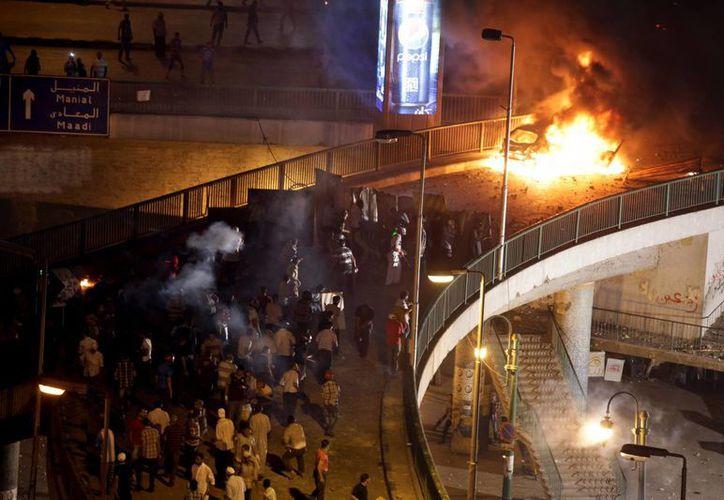 El líder máximo de la Hermandad Musulmana pidió a los egipcios que salgan a protestar. (Agencias)