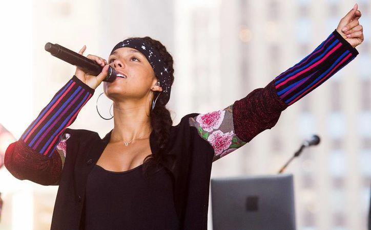 Alicia Keys ya liberó a través de las plataformas de música  la primera canción titulada  'Blended family' (What you do for love), la cual ha tenido buen recibimiento.(Charles Sykes/AP)
