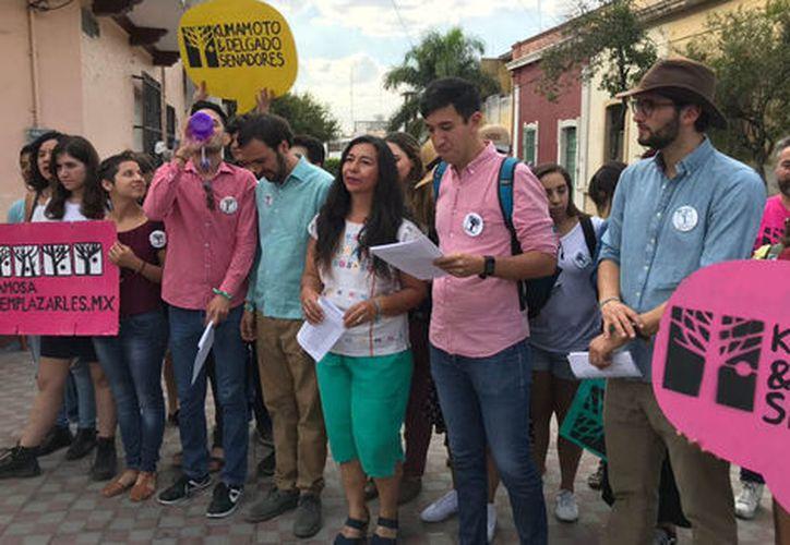 A Pedro se le vio sonriente, como hace tres años cuando arrancó su campaña con miras a un escaño en el Congreso del Estado de Jalisco. (Jorge Martínez/Milenio)