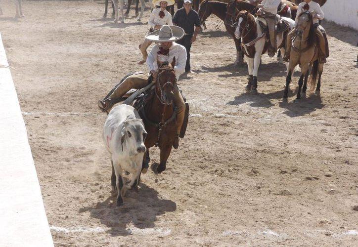 Los equipos de los ranchos 'San Martín' y 'Montecristo' se enfrentaron este domingo. (Foto: Cortesía)