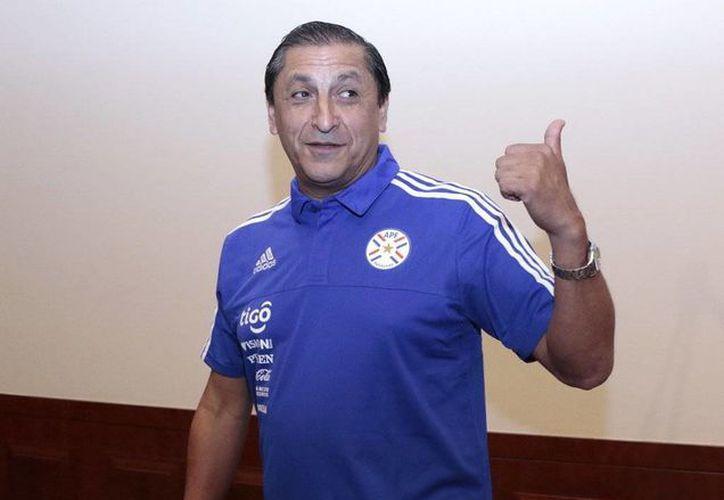 Ramón <i>Pelado</i> Díaz renunció a la dirección técnica de la selección de Paraguay. (Twitter: @ramondiaz9dt)