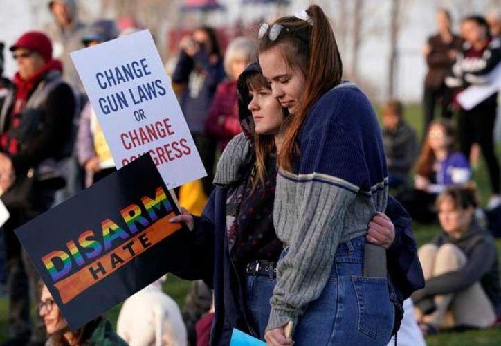 Muchos de los manifestantes vistieron de color naranja, que representa al movimiento. (Foto: Reuters).